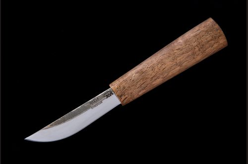 Якутский нож, малый <span>(95х18, орех)</span>