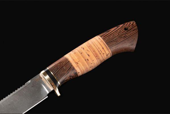 Нож Ерш <span>(дамаск, береста, венге)</span>