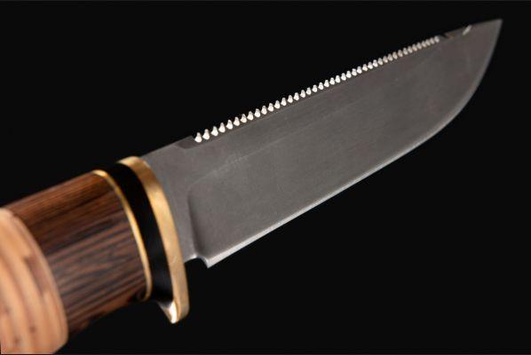 Нож Ерш <span>(булат, береста, венге)</span>