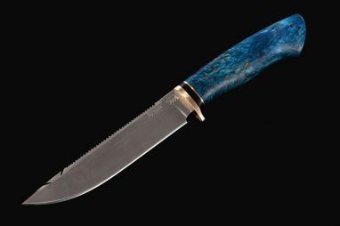 Нож Ерш <span><span>(булат, стабилизированная карельская берёза)</span></span>