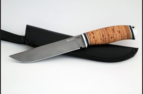 Нож Таёжный <span>(булат, береста, дюраль)</span>