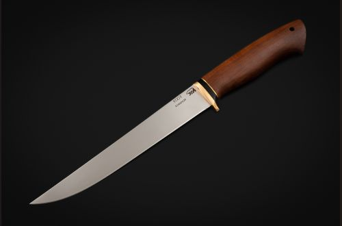 Нож Филейный большой <span>(95х18, мореный граб)</span>
