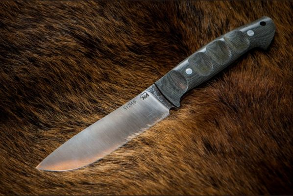 Нож Крит <span>(х12мф, микарта, цельнометаллический)</span>