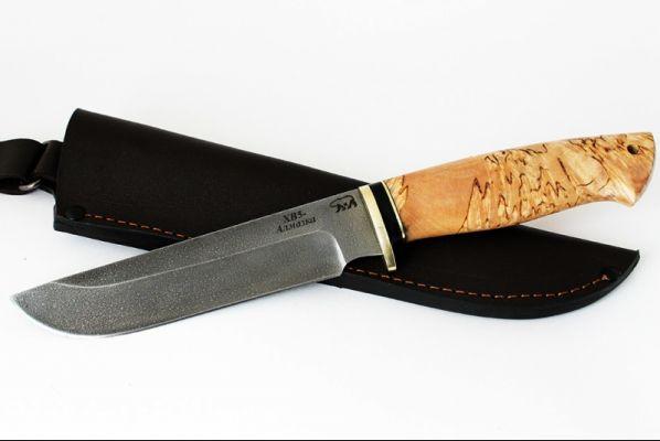 Нож Легионер (алмазка, карельская берёза)