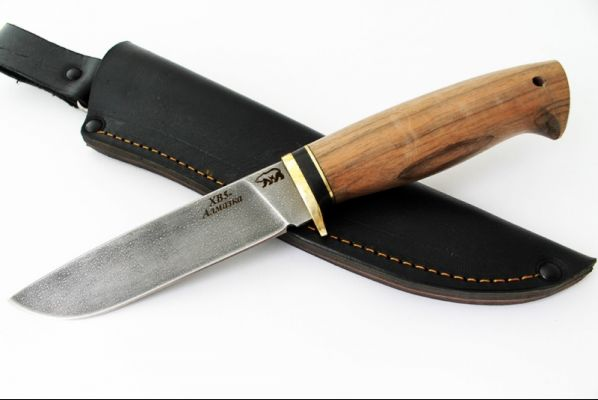 Нож Рысь (алмазка, орех)