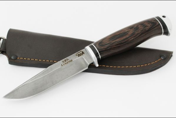 Нож Волк (алмазка, береста, дюраль)