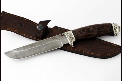 Нож Легионер <span>(алмазка, венге, литьё мельхиор)</span>