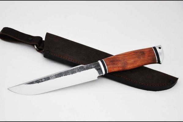Нож Тайга (95х18, бубинга помеле, дюраль)