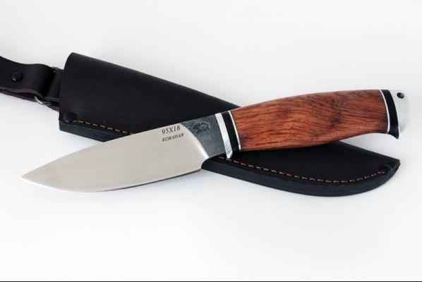 Нож Боровик 2 (95х18, бубинга помеле, дюраль)
