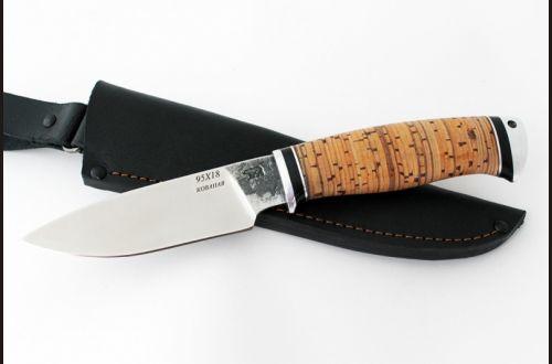 Нож Боровик 2 <span>(95х18, береста, дюраль)</span>