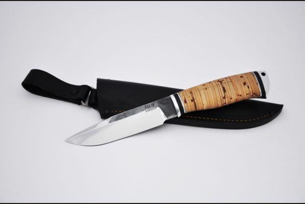 Нож Лесник <span>(95х18, береста, дюраль)</span>