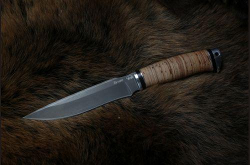 Нож Ворон <span>(булат, береста, дюраль)</span>