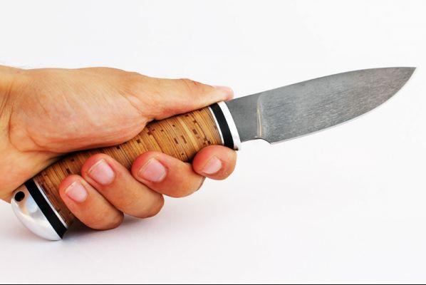 Нож Боровик 2 <span>(булат, береста, дюраль)</span>
