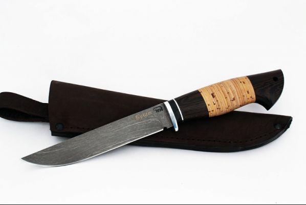 Нож Волк <span>(булат, венге, береста)</span>