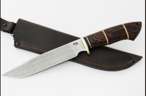 Нож Разведчик 2 <span>(дамаск, венге, вставка береста)</span>