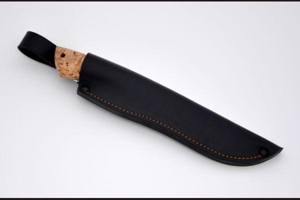 Нож Лиса <span>(дамаск, карельская береза)</span>
