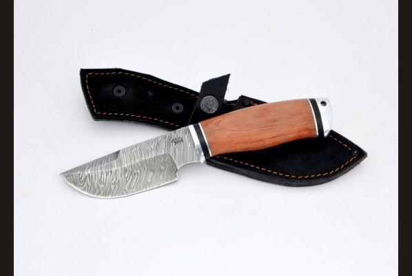 Нож Медведь (дамаск, бубинга, дюраль)