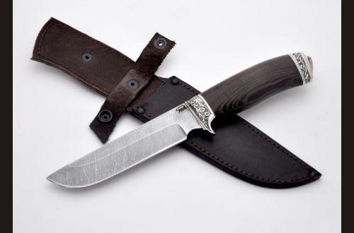 Нож Легионер <span>(дамаск, венге, мельхиор)</span>