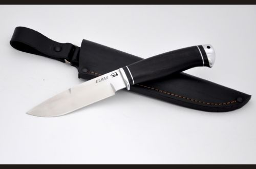 Нож Лесник <span>(elmax, чёрный граб, дюраль)</span>