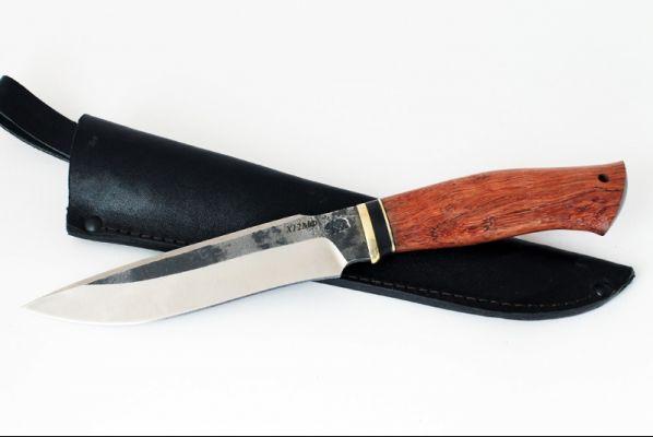 Нож Ворон (х12мф, бубинга помеле)