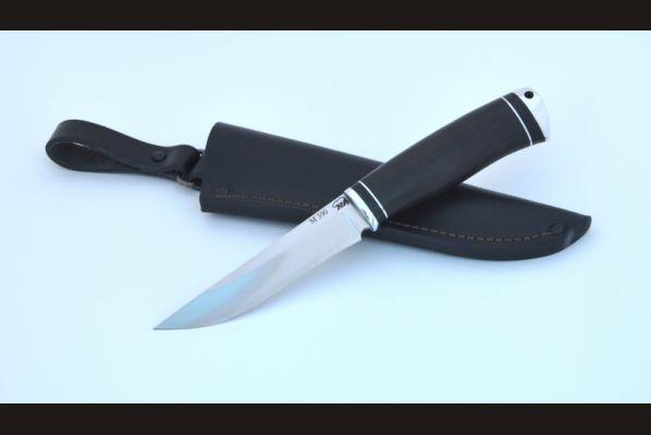 Нож Барс (м390, чёрный граб, дюраль)