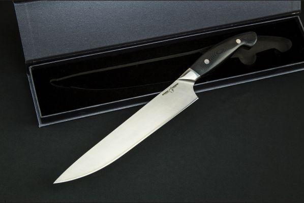 Нож Слайсер <span>(нержавеющий ламинат, цельнометаллический, g10)</span>