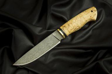 Нож Лиса <span><span>(булат, карельская берёза)</span></span>