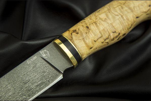 Нож Лиса <span>(булат, карельская берёза)</span>