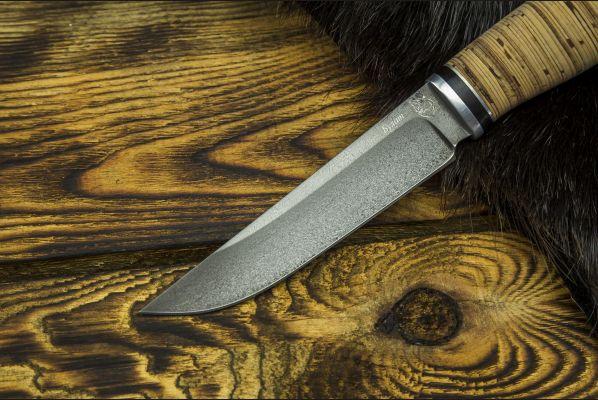 Нож Барс <span>(булат, береста, дюраль)</span>