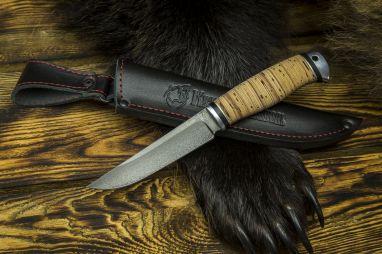 Нож Барс <span><span>(булат, береста, дюраль)</span></span>