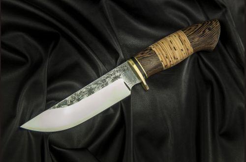 Охотничий нож Сахалин <span>(95х18, береста, венге)</span>