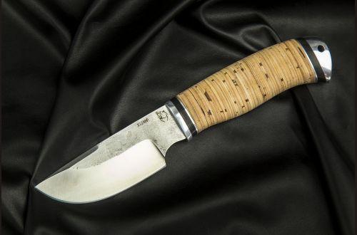 Нож Медведь <span>(х12мф, береста, дюраль)</span>