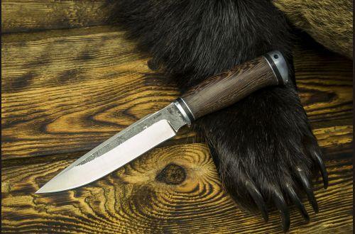 Нож Ворон <span>(х12мф, венге, дюраль)</span>