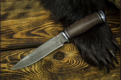 Нож Ворон <span>(алмазка, венге, дюраль)</span>
