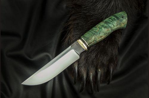 Нож Походный <span>(elmax, стабилизированная карельская берёза)</span>