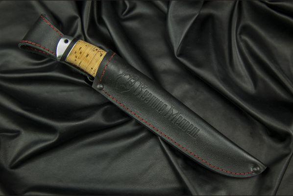 Нож Рыбак <span>(95х18, береста, дюраль)</span>