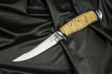 Нож Рыбак <span><span>(95х18, береста, дюраль)</span></span>