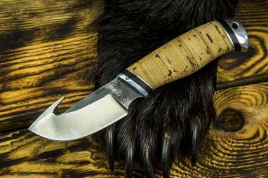 Нож Скинер <span><span>(х12мф, береста, дюраль)</span></span>