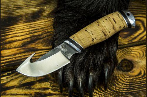 Нож Скинер <span>(х12мф, береста, дюраль)</span>