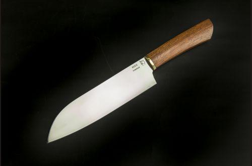 Кухонный нож Сантоку 1 <span>(95х18, бубинга помеле)</span>