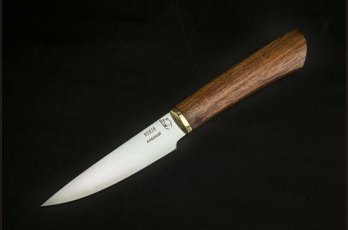 Кухонный нож овощной 5 <span>(95х18, бубинга помеле)</span>