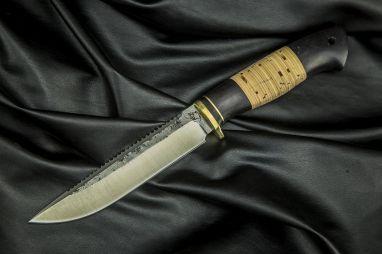 Нож Ерш <span><span>(х12мф, береста, граб)</span></span>