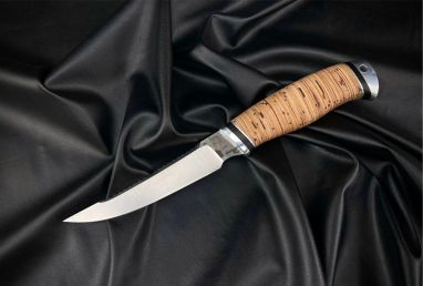 Нож Рыбак <span><span>(х12мф, береста, дюраль)</span></span>