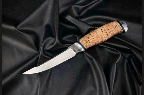 Нож Рыбак <span>(х12мф, береста, дюраль)</span>