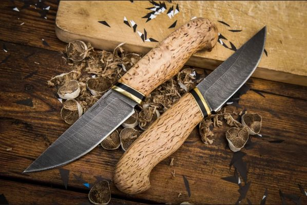 Нож Русский <span>(дамаск, карельская береза)</span>
