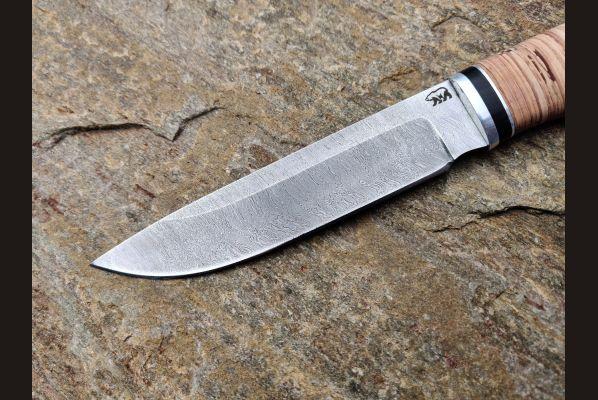 Нож путник <span>(дамаск, береста, дюраль)</span>
