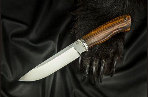 Нож Путник <span>(M390, айронвуд, мозаичный пин)</span>