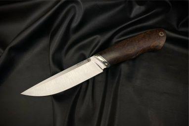 Нож Русский 2 <span><span>(S390, стабилизированная карельская берёза, мозаичный пин под темляк)</span></span>