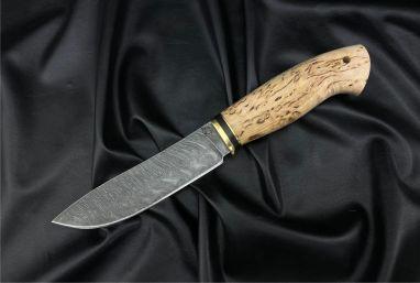 Нож Крит <span><span>(дамаск, карельская берёза)</span></span>
