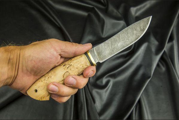 Нож Крит <span>(дамаск, карельская берёза)</span>
